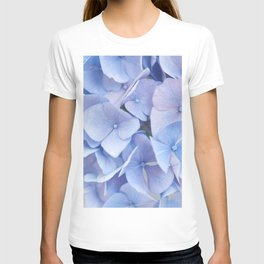 Blue Hydrangeas #3 #decor #art #society6 T-shirt