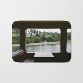 Ferry Ride to Bainbridge Island, WA Bath Mat
