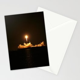 SpaceX Night Launch Stationery Cards