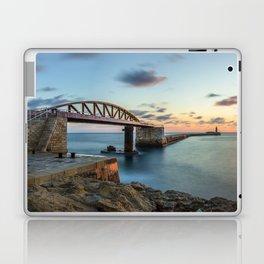 Bridge to nowhere Valletta Laptop & iPad Skin