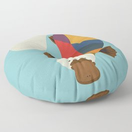 Platypus Floor Pillow