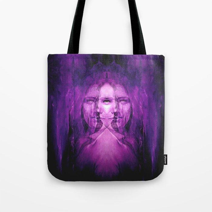 Hemispheres - reloaded - purple Tote Bag