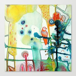 le murmure Canvas Print