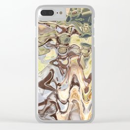 Clutch: abstract digital painting Clear iPhone Case