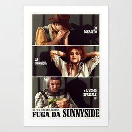 Fuga da Sunnyside Art Print