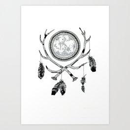 Mooncatcher Art Print