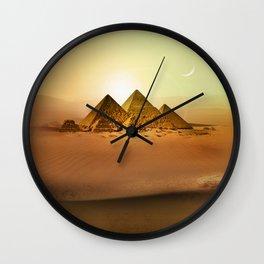 Station Pyramid Day Wall Clock