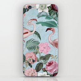 Flamingo Paradise iPhone Skin
