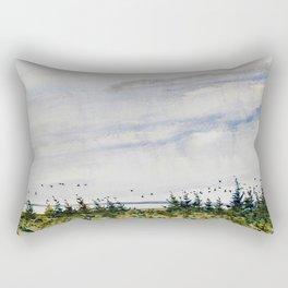 the bay - la Baie Rectangular Pillow