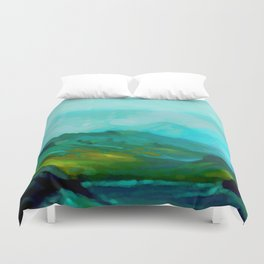 The Laughing Brook Duvet Cover