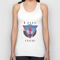 skate Tank Tops featuring Skate by Stefano Messina