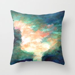 Fluster Throw Pillow