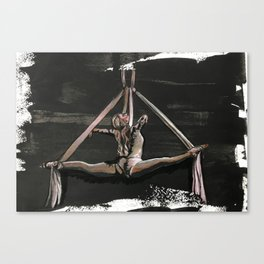 Subtle Splits Triangle Canvas Print