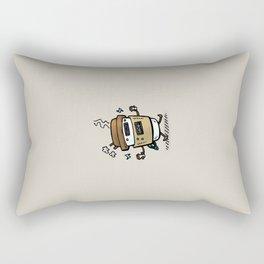 Latte Bot Rectangular Pillow