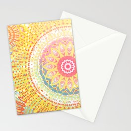 Sunkissed Mandalas Stationery Cards