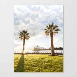 Morning Run With a View Canvas Print