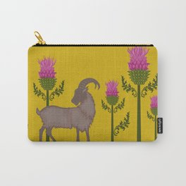 Mountain Goat + Thistle Carry-All Pouch