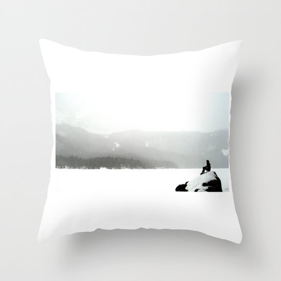 snowblind.  Throw Pillow