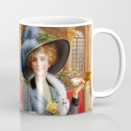 Tea and Letters Coffee Mug
