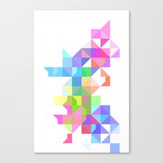 Color Love Canvas Print