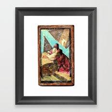 double jesus Framed Art Print