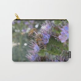 Bees on Buddleia Carry-All Pouch