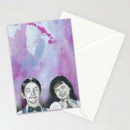 I hate your stinkin' guts Stationery Cards