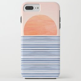 Summer Sunrise - Minimal Abstract iPhone Case