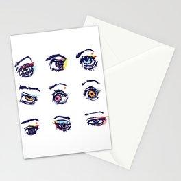 Left eyes Stationery Cards