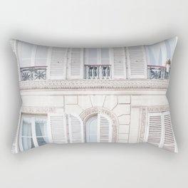 White house Rectangular Pillow