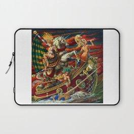 Party Boat to Atlantis Laptop Sleeve