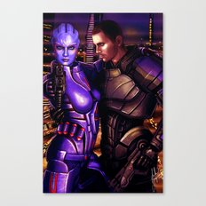 Mass Effect - For love... Canvas Print