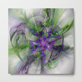 Painted with Love Metal Print