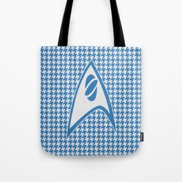 Science of Houndstooth Tote Bag
