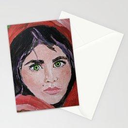 Afghani Girl Stationery Cards