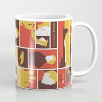 lannister Mugs featuring House Lannister by Jack Howse