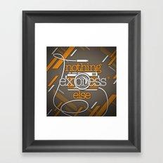 Express Framed Art Print