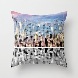 Pink2 Throw Pillow
