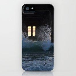 c r a s h i n g iPhone Case