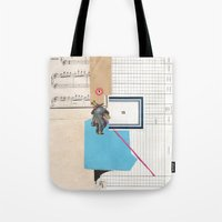 calendar 2015 Tote Bags featuring 2015 by Fitacola