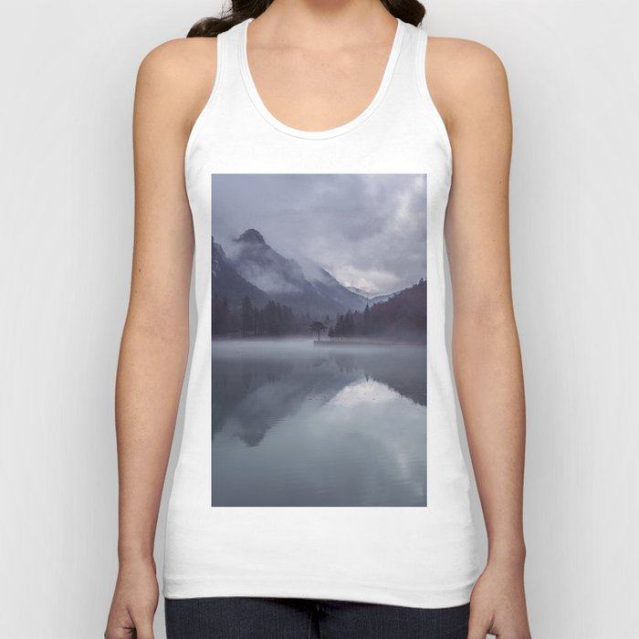 Wanderlust Forest on the Water Unisex Tank Top
