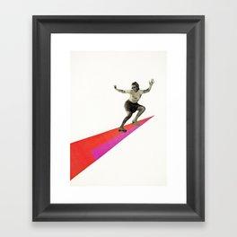 Skate the Day Away Framed Art Print