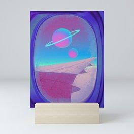 Space Journey Mini Art Print