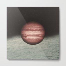 Where the sea and space collide Metal Print