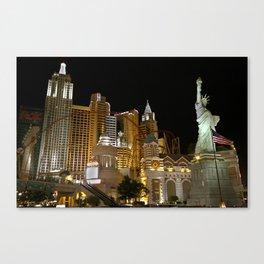 New York, New York Hotel and Casino 01 Canvas Print