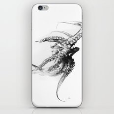 Octopus Rubescens iPhone & iPod Skin