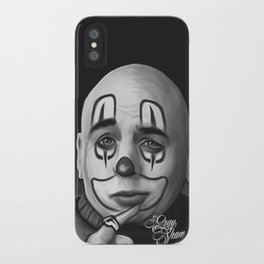 "Art Design ""Chicano clown"" iPhone Case"