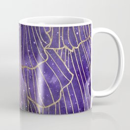 Galaxy petals - violet skies Coffee Mug