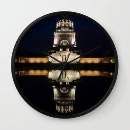 Monument Leipzig Wall Clock