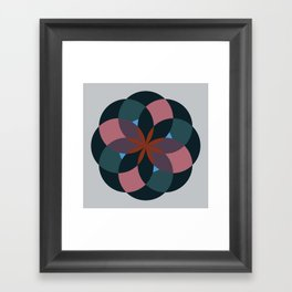 Douche Flower Framed Art Print